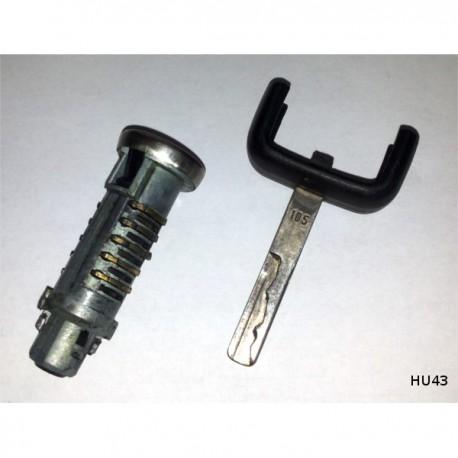 Užvedimo spynos šerdis su raktu HU43